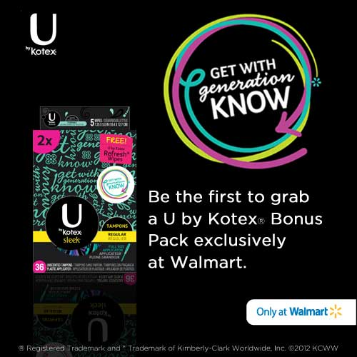 image about Kotex Printable Coupons identify $2/1 U By means of Kotex printable coupon \u003d no cost at Walmart Revenue