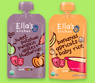 Savvy Spending: Ella's Kitchen baby food- Free snack pack