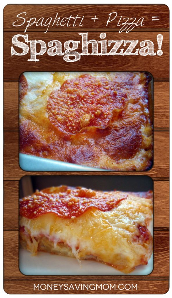 Spaghetti + Pizza = Spaghizza
