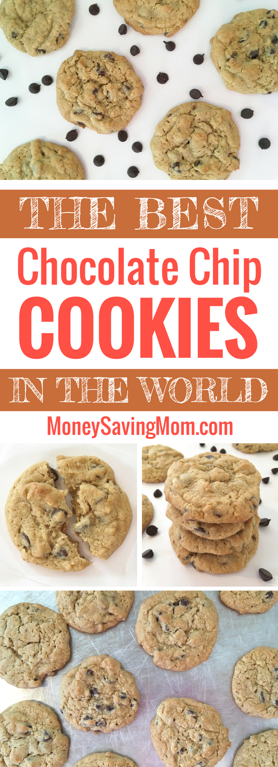 This is the BEST Chocolate Chip Cookies recipe and the only one you'll ever need! These s turn out perfectly every time!