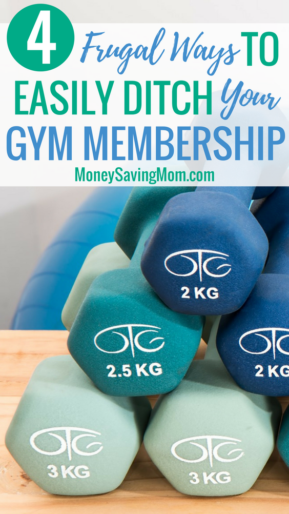 Save money by ditching your gym membership with these frugal workout alternatives!
