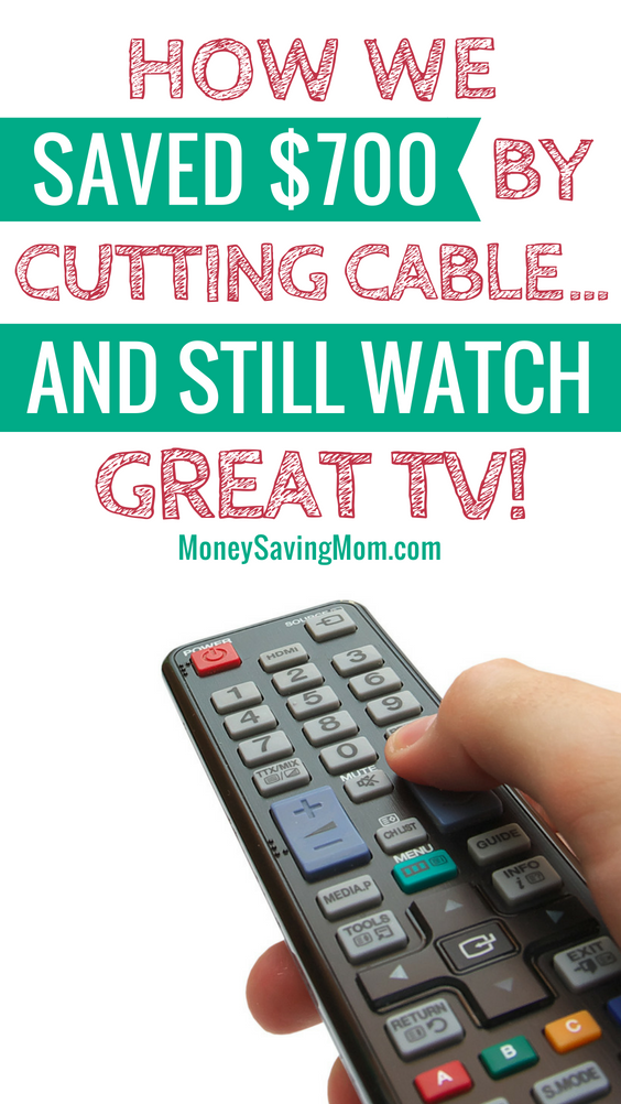 Cut cable, save money, and STILL watch great TV! Here's how!!