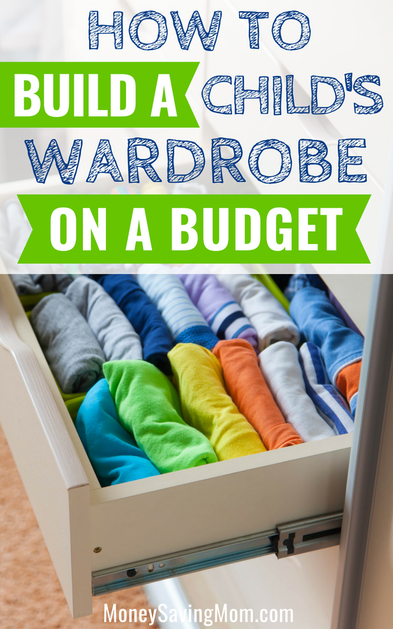 How to Build a Child's Wardrobe on a Budget - Money Saving Mom