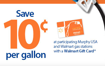 Save 0 10 Per Gallon When You Purchase Gas With A Walmart Gift Card