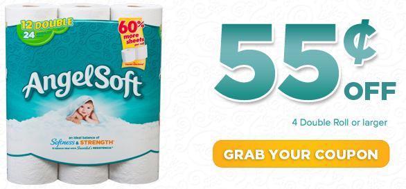 0 55 1 Angel Soft Toilet Paper Coupon Facebook Offer Money