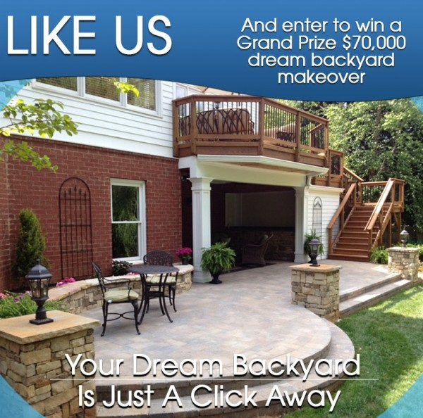 Want ... - Enter To Win A Backyard Makeover (Facebook Giveaway) - Money Saving