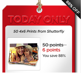 Coke Rewards: 50 4×6 photo prints from Shutterfly for just 6 points