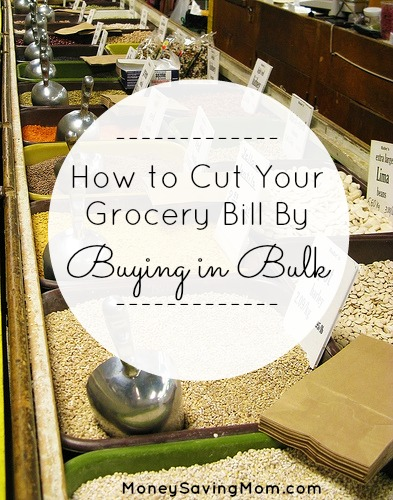 52 Different Ways to Save $100 This Year: Buy in Bulk {Week 19}
