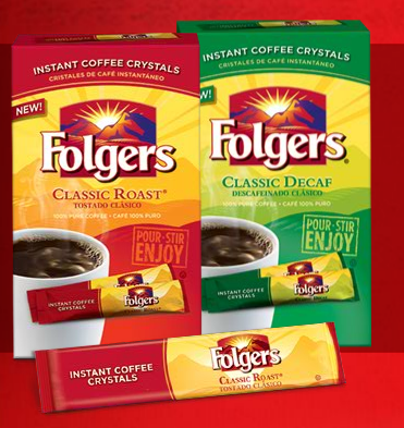 Folgers instant coffee coupons 2018