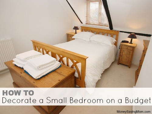 how to decorate a small bedroom on a budget money saving mom