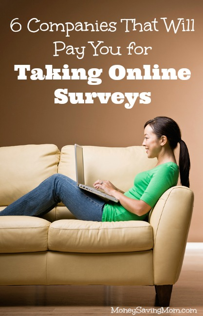 ... That Will Pay You for Taking Online Surveys - Money Saving Mom