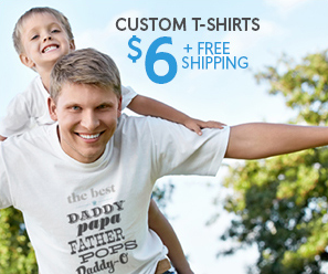 Vistaprint get a custom t shirt for 6 shipped money for Vistaprint custom t shirts