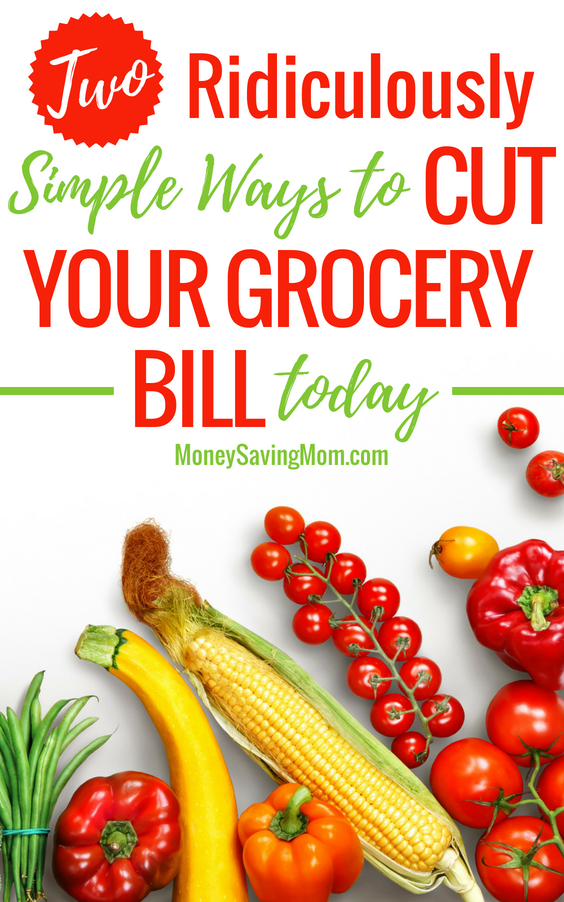 Two Simple Ways We're Cutting Our Grocery Bill