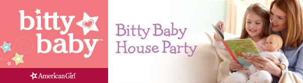 Apply to host a free American Girl Bitty Baby House Party