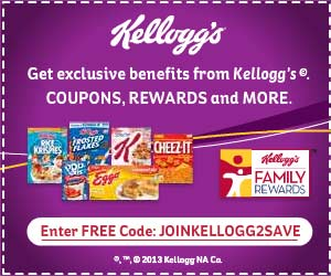 Kellogg's Family Rewards: Free 20-point code
