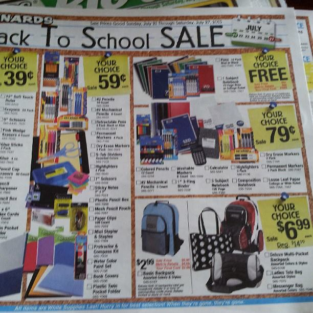 Menards: Back to School Deals for the week of July 21-27, 2013