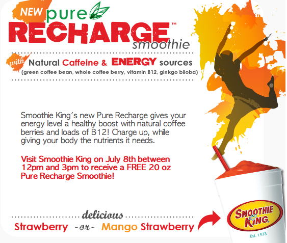 Smoothie king coupons