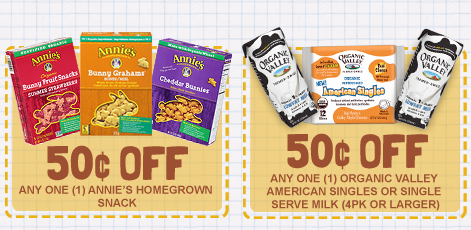 graphic regarding Organic Printable Coupons identified as Natural and organic Valley Milk, YoKids, Genuine Children, and Annies