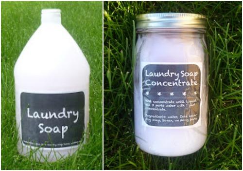 Do It Yourself: Homemade Liquid Laundry Detergent