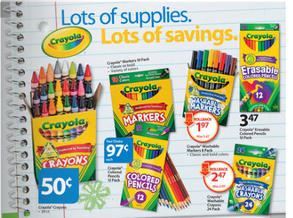 "Walmart is offering deals on school supplies, including 26 in-demand items like pencils, markers, folders and calculators to ""guarantee low prices both online and in-store"" throughout the."