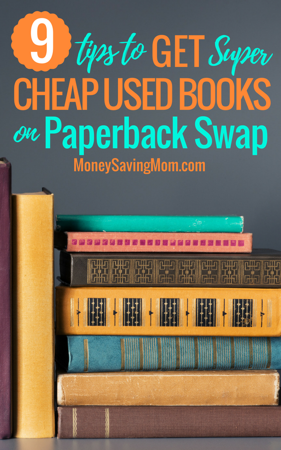 Find the BEST used books deals on Paperback Swap with these genius tips!