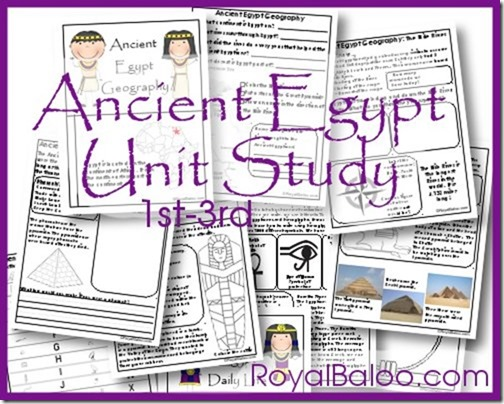 Free Ancient Egypt Printable Pack and Unit Study Money Saving Mom – Ancient Egypt Worksheets