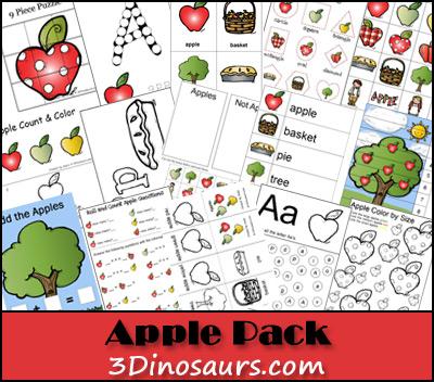 Free Apple Activities Printable Pack