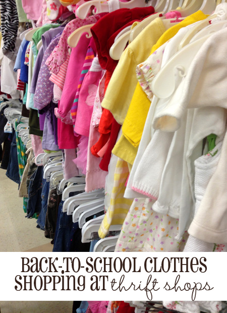 How to Save Money on Back-to-School Clothes By Shopping at ...