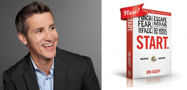 Monthly Sponsor Spotlight: An interview with Jon Acuff, author of START