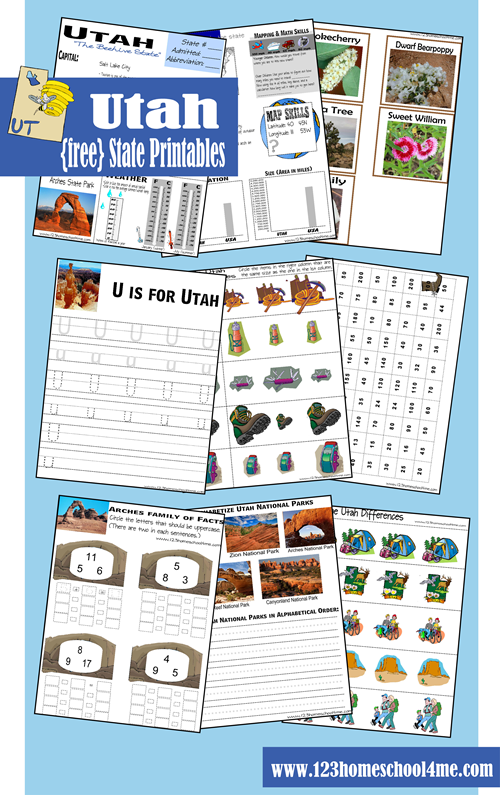 free utah early learning printable pack money saving mom. Black Bedroom Furniture Sets. Home Design Ideas