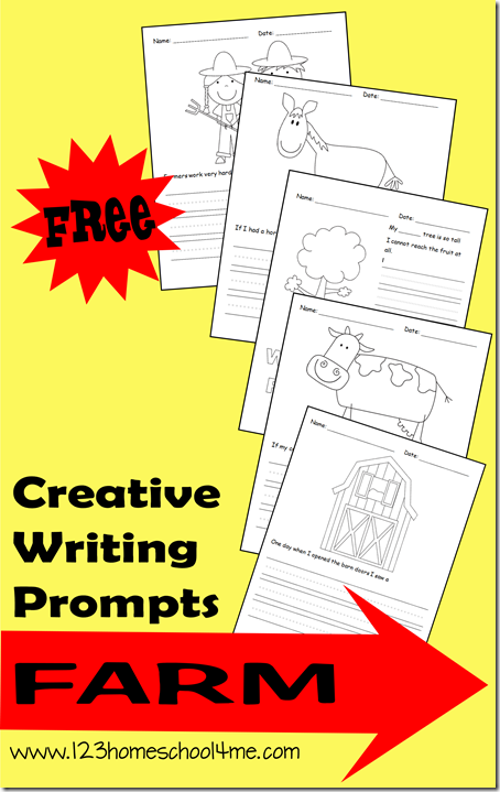 free creative writing prompts