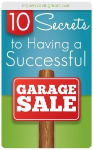 10 Secrets to Having a Successful Garage Sale