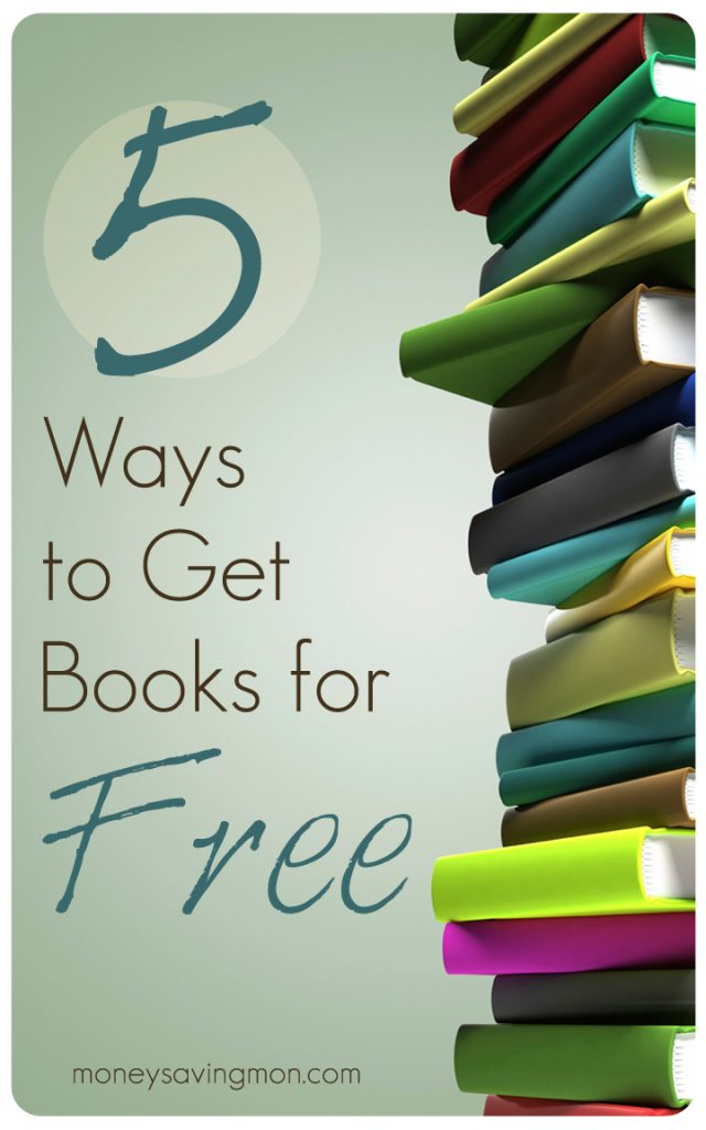 5 Ways to GetBooks for Free