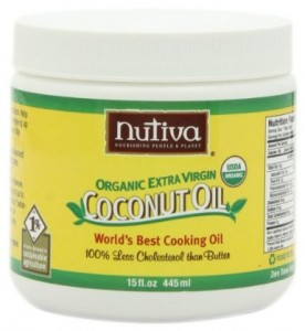 Nutiva Organic Extra-Virgin Coconut Oil (15-ounce)
