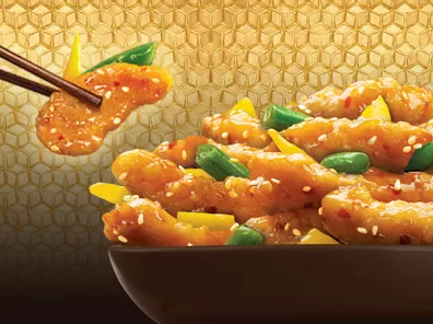 Get $3 off a $5 online order at Panda Express right now!
