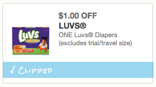 photograph regarding Printable Pampers Coupons identified as Printable diaper discount coupons: LUVS Pampers Fiscal Conserving Mother