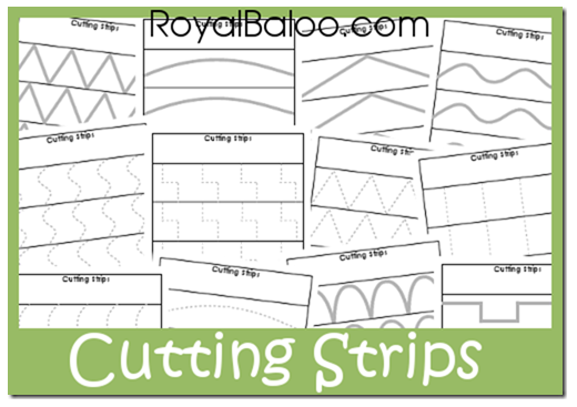 photograph relating to Free Printable Cutting Activities for Preschoolers titled No cost Printable Reducing Educate Strips Income Conserving Mother