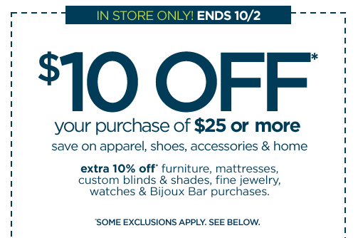 Jcpenney Coupon 10 Off 25 Purchase Money Saving Mom 174