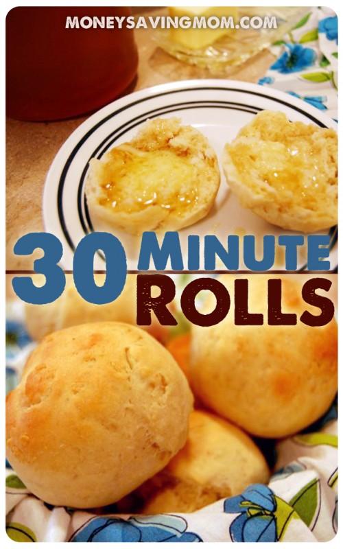 30 Minute Rolls
