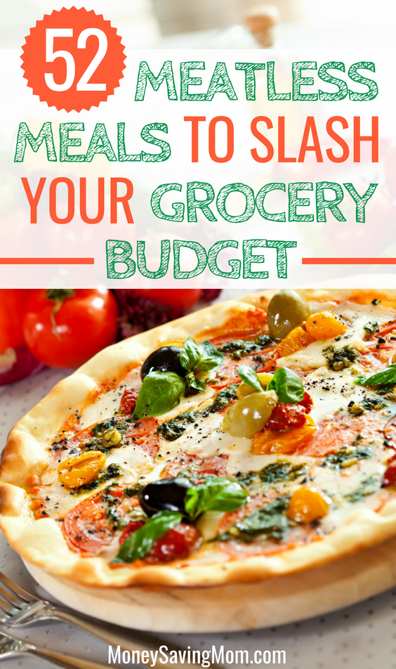 Meatless Meals to Slash Your Grocery Budget