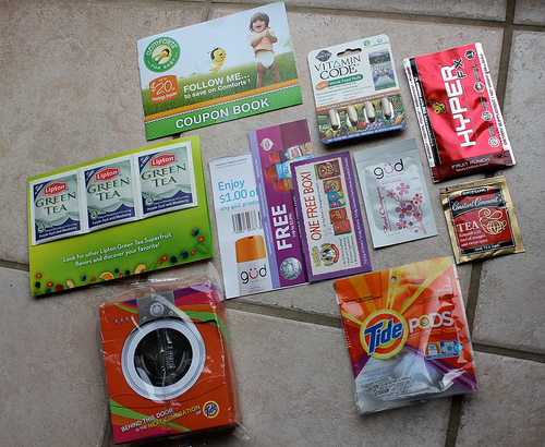 Freebies in my mailbox