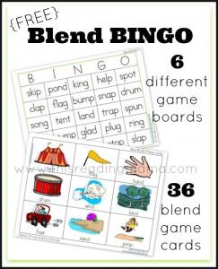 Blend Bingo Word Game