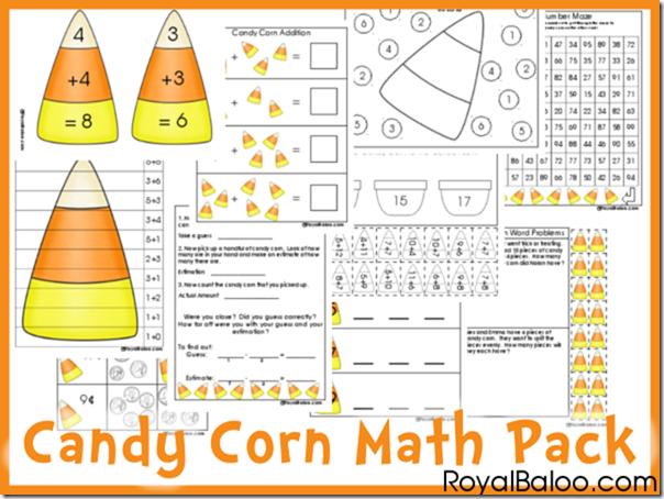 free candy corn math printable pack money saving mom. Black Bedroom Furniture Sets. Home Design Ideas
