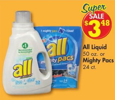 Family Dollar All Detergent