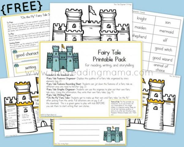 free fairy tale printable pack money saving mom. Black Bedroom Furniture Sets. Home Design Ideas
