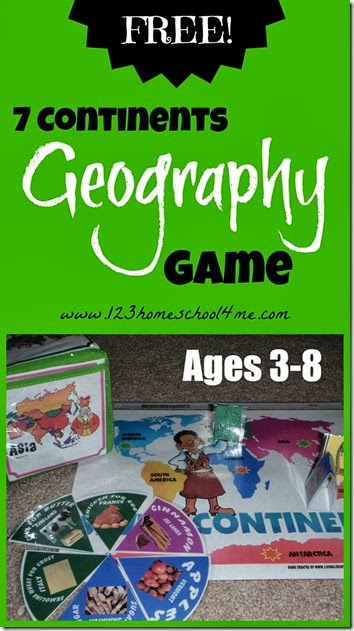 Seven Continents Geography Game
