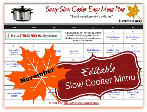 The Sassy Slow Cooker