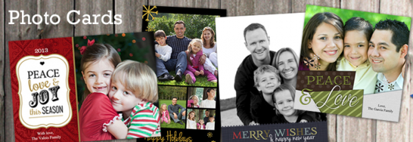 Holiday Cards from Winkflash