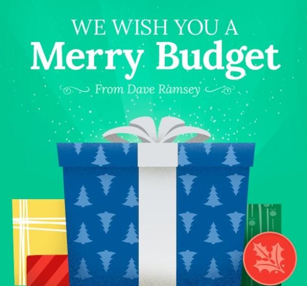 My Christmas Budget