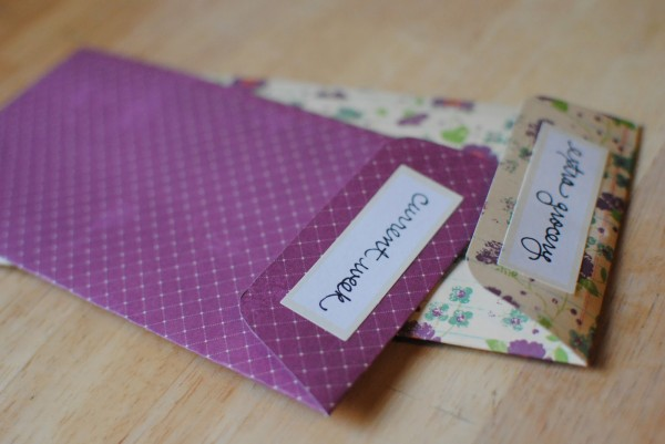 Cash Envelope System Templates